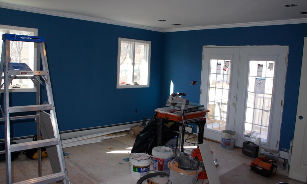 Master Bedroom - Construction 08